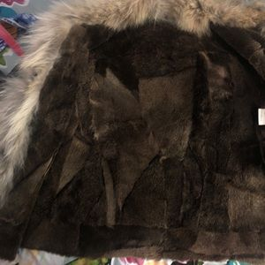 Sinequanone Jackets & Coats - Real Fur/Leather Sinequanone Coat Size 4 (FR 38)